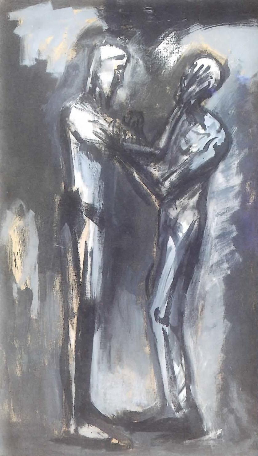 Enrico Accattino - Cristo e il cieco