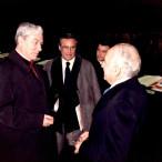 Emilio Greco e il Cardinale Pappalardo