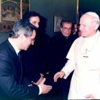 Giovanni Bonanno e Giovanni Paolo II