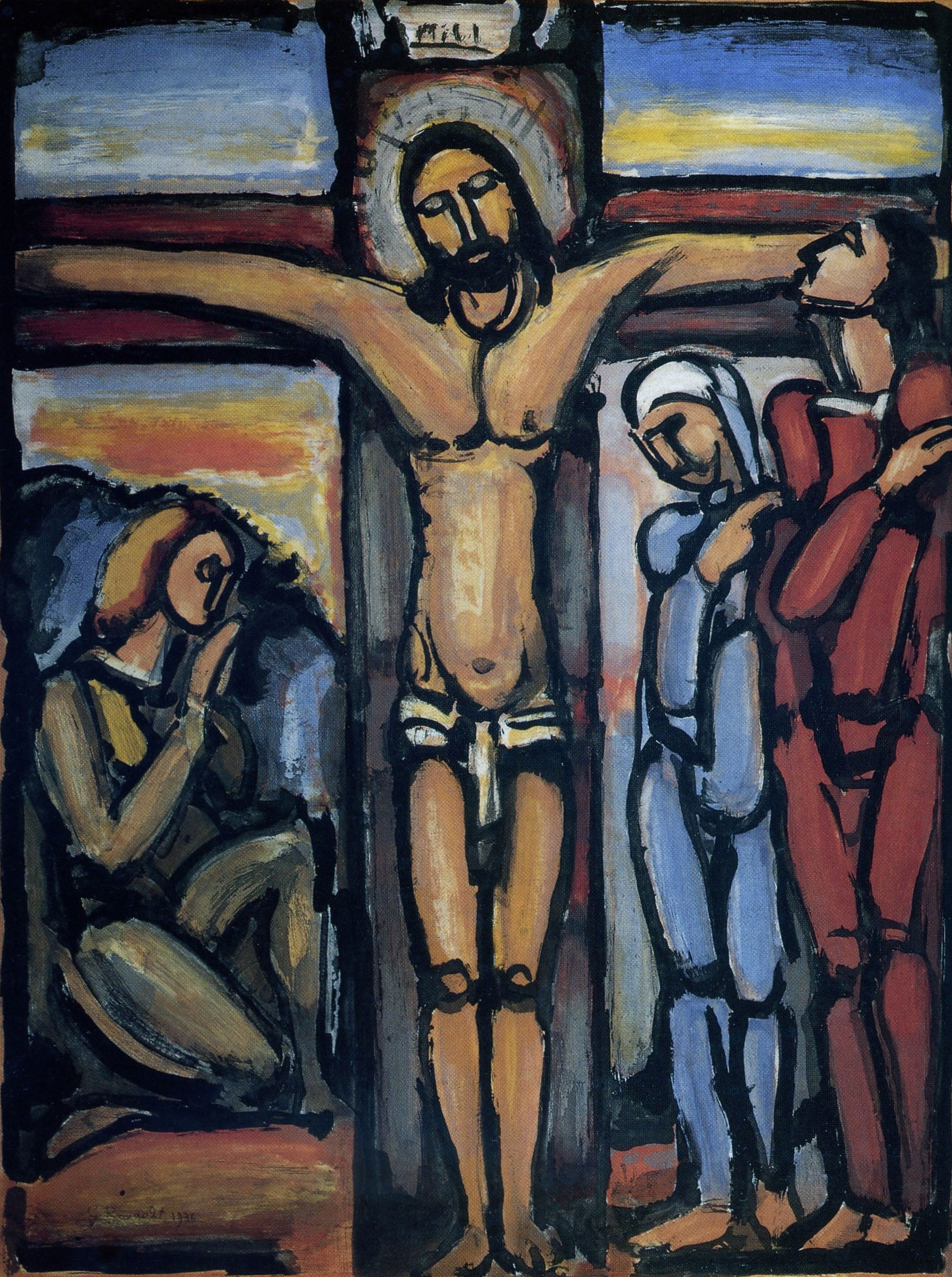 Georges Rouault - Cristo in croce