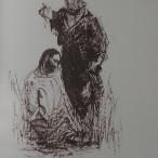 Pietro Annigoni - Il battesimo di Cristo