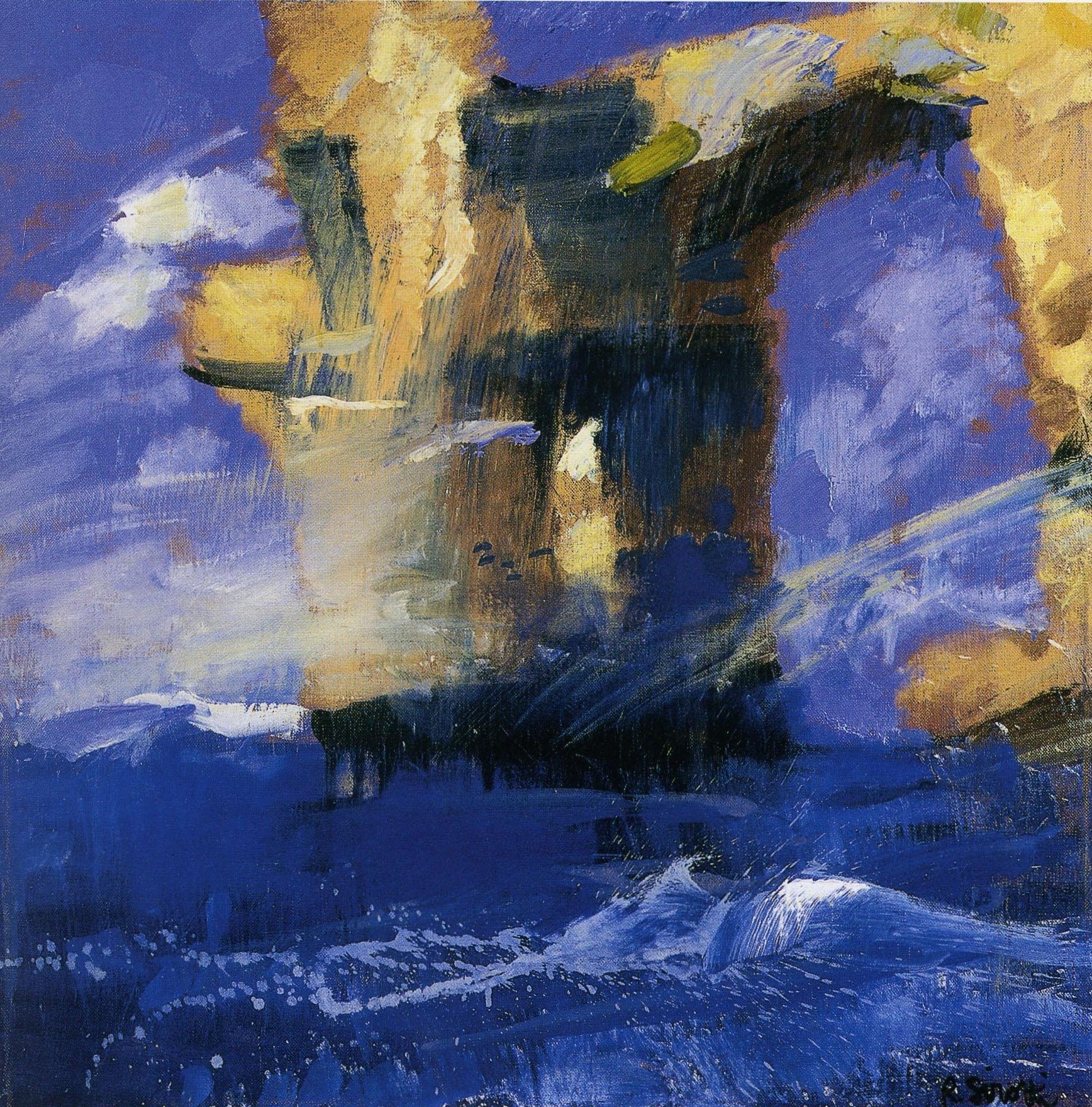 Raimondo Sirotti - Mareggiata a Malta