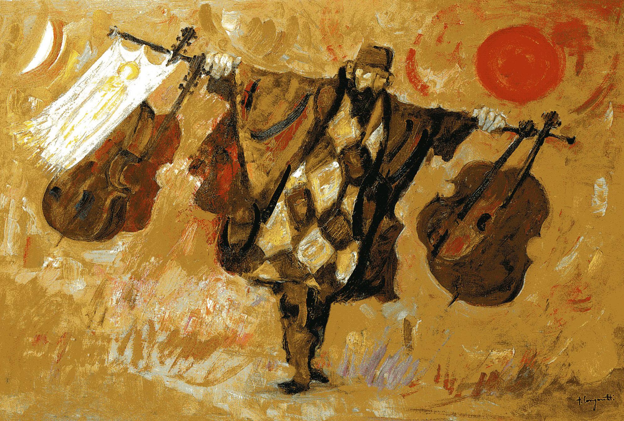 Trento Longaretti - Ambulante venditore di violini