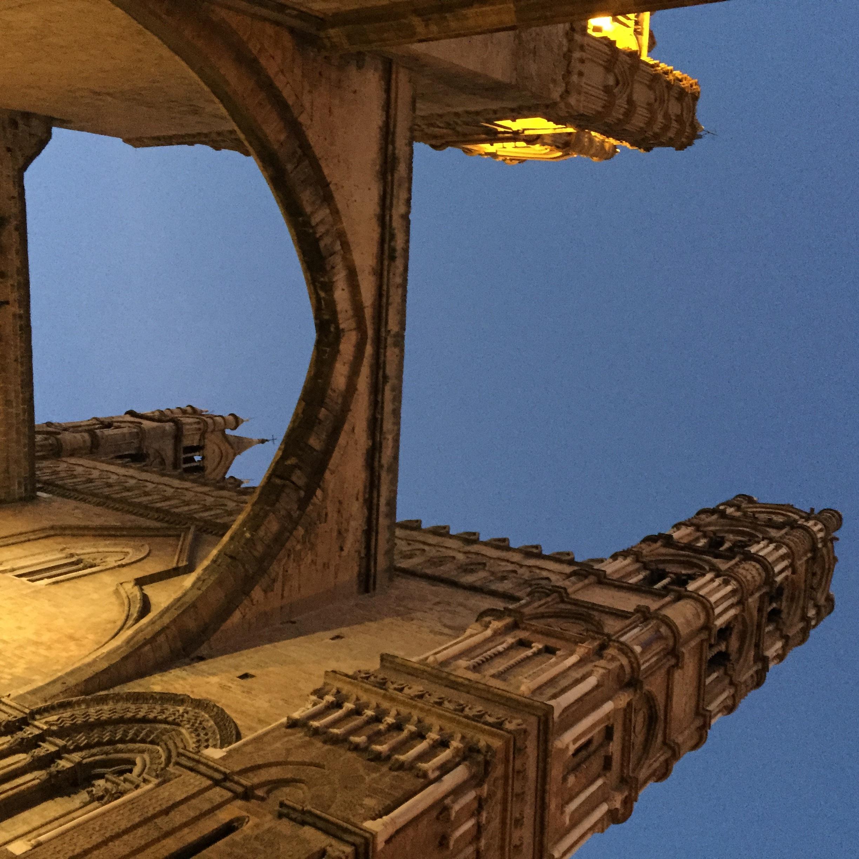 Cattedrale di Palermo - Archi e campanili