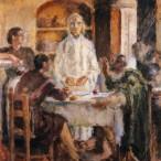 Ardegno Soffici - La cena di Emmaus