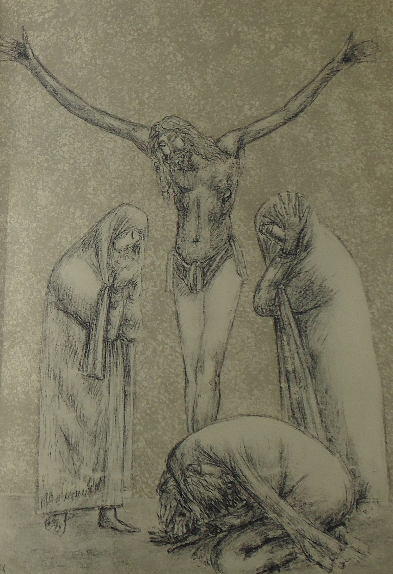 Giuseppe Mazzullo - Crocifissione