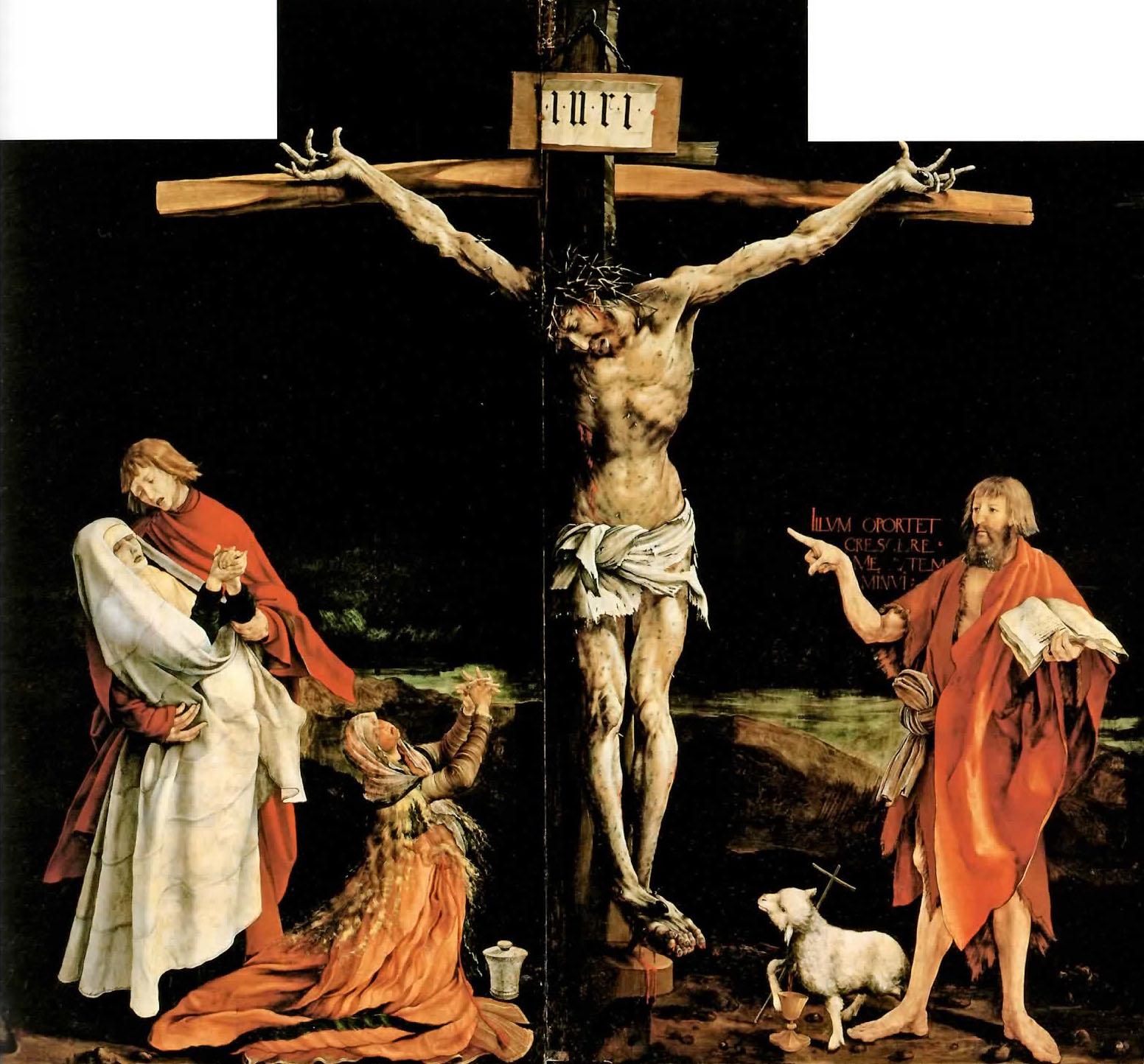 Mathis Grunewald - Crocifissione di Isenheim