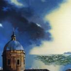 Mario Bardi - Alba sulla città barocca