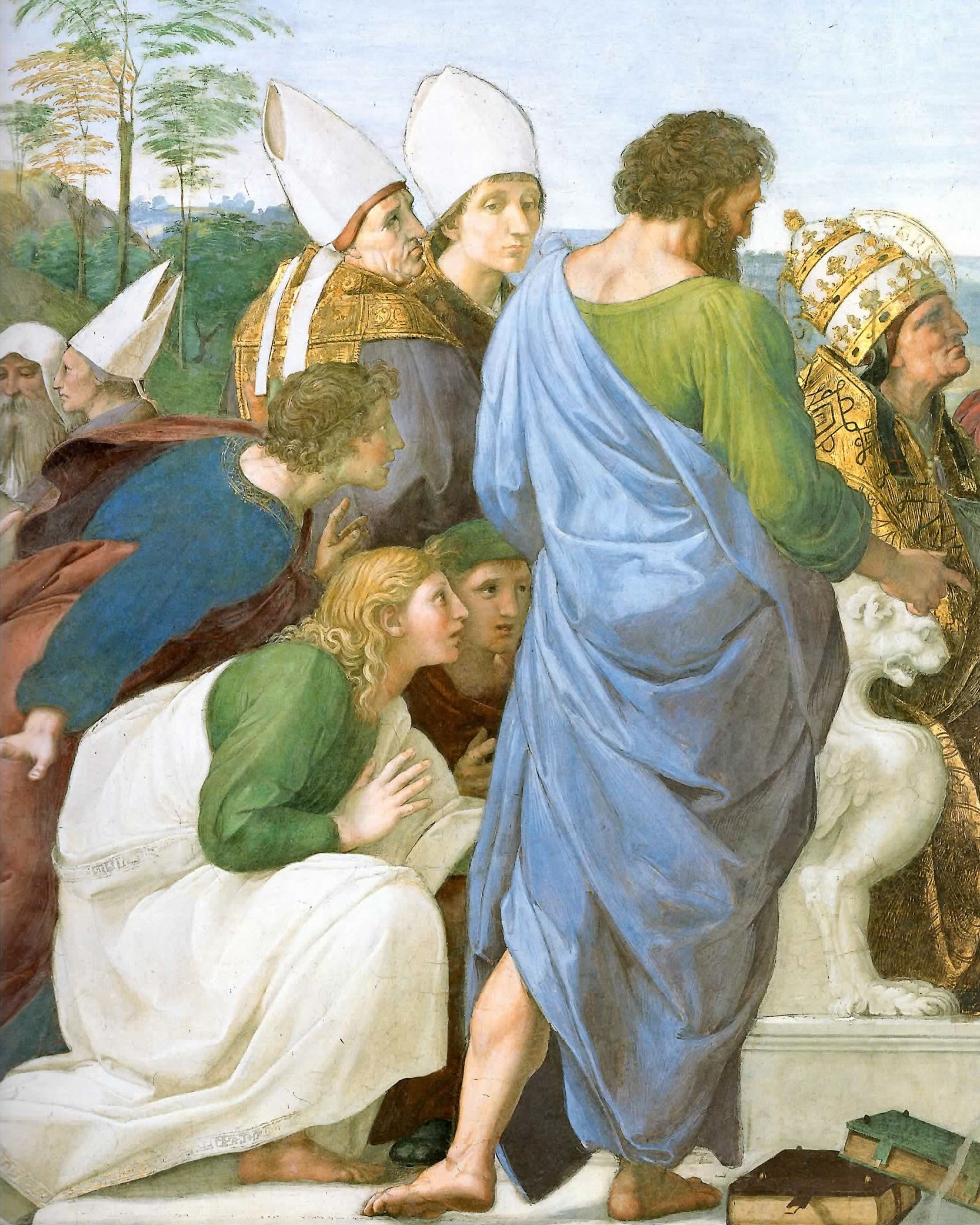 Raffaello - Disputa del sacramento