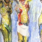 Fausto Pirandello - Crocifissione