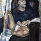Roberto Dragoni - Donna in mutande