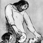 Alberto Ziveri - Cristo e gli infermi