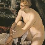 Tintoretto - Susanna e i vecchioni, part.