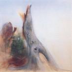 Piero Guccione - Dopo il vento di occidente grande tronco nel cielo azzurro