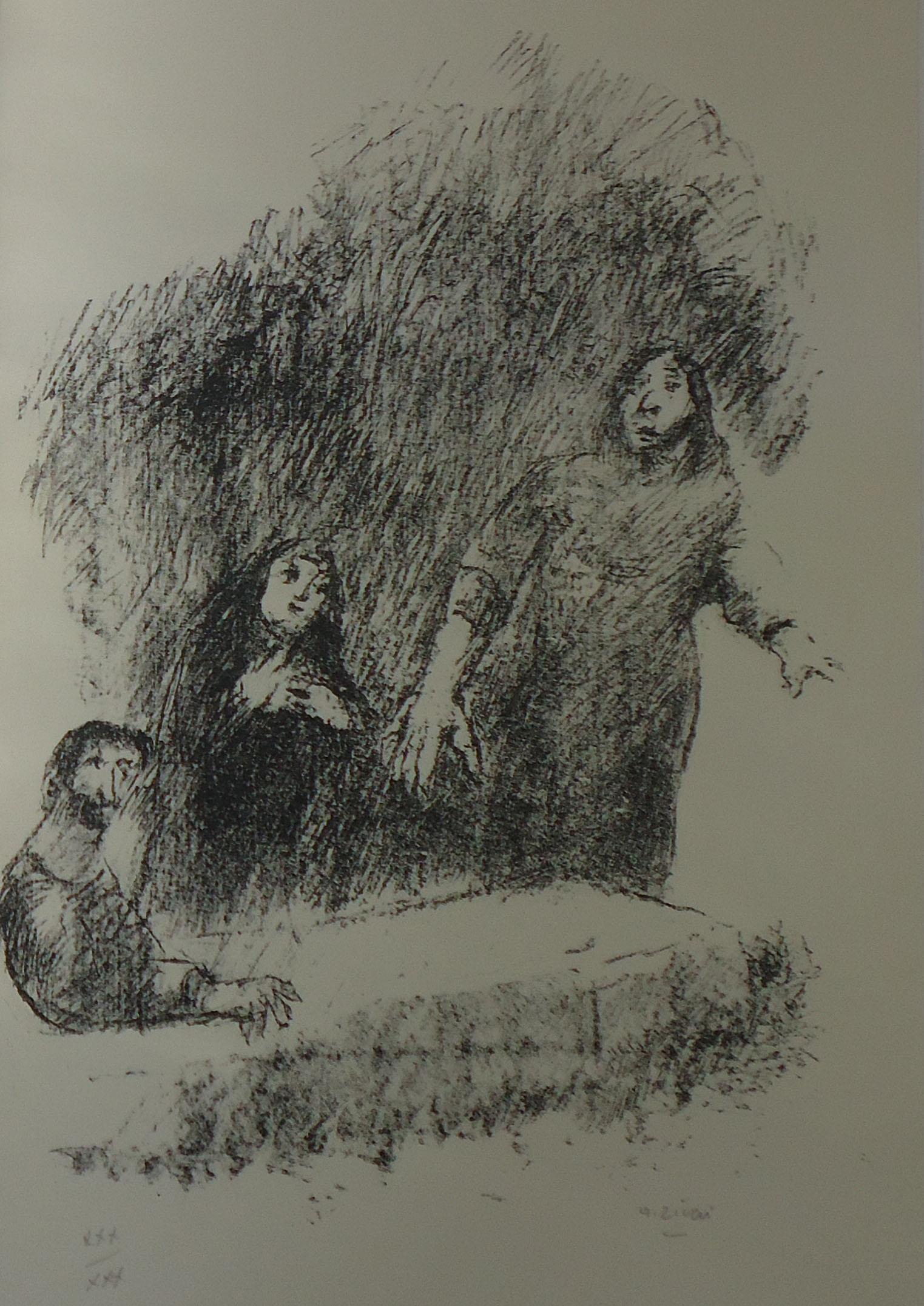 Alberto Ziveri - Resurrezione di Lazzaro