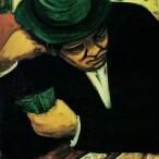 Giuseppe Migneco - Giocatore di carte