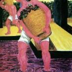 Giuseppe Migneco - Pigiatore di uve