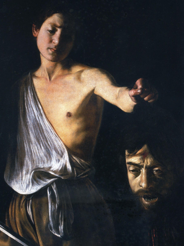 Caravaggio - Davide con la testa di Golia