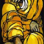 Luigi Coppa - Donna in giallo