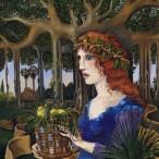 Bruno Caruso - Apparizione nel giardino
