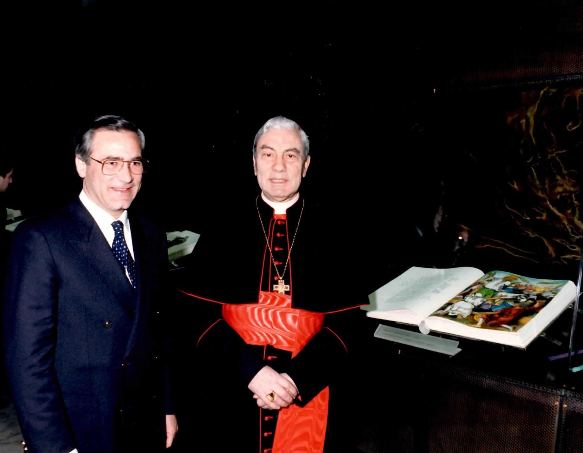 Card. Pappalardo e G. Bonanno
