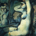 Georges Rouault - Ragazza allo specchio