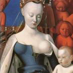 Jean Fouquet - Madonna col Bambino