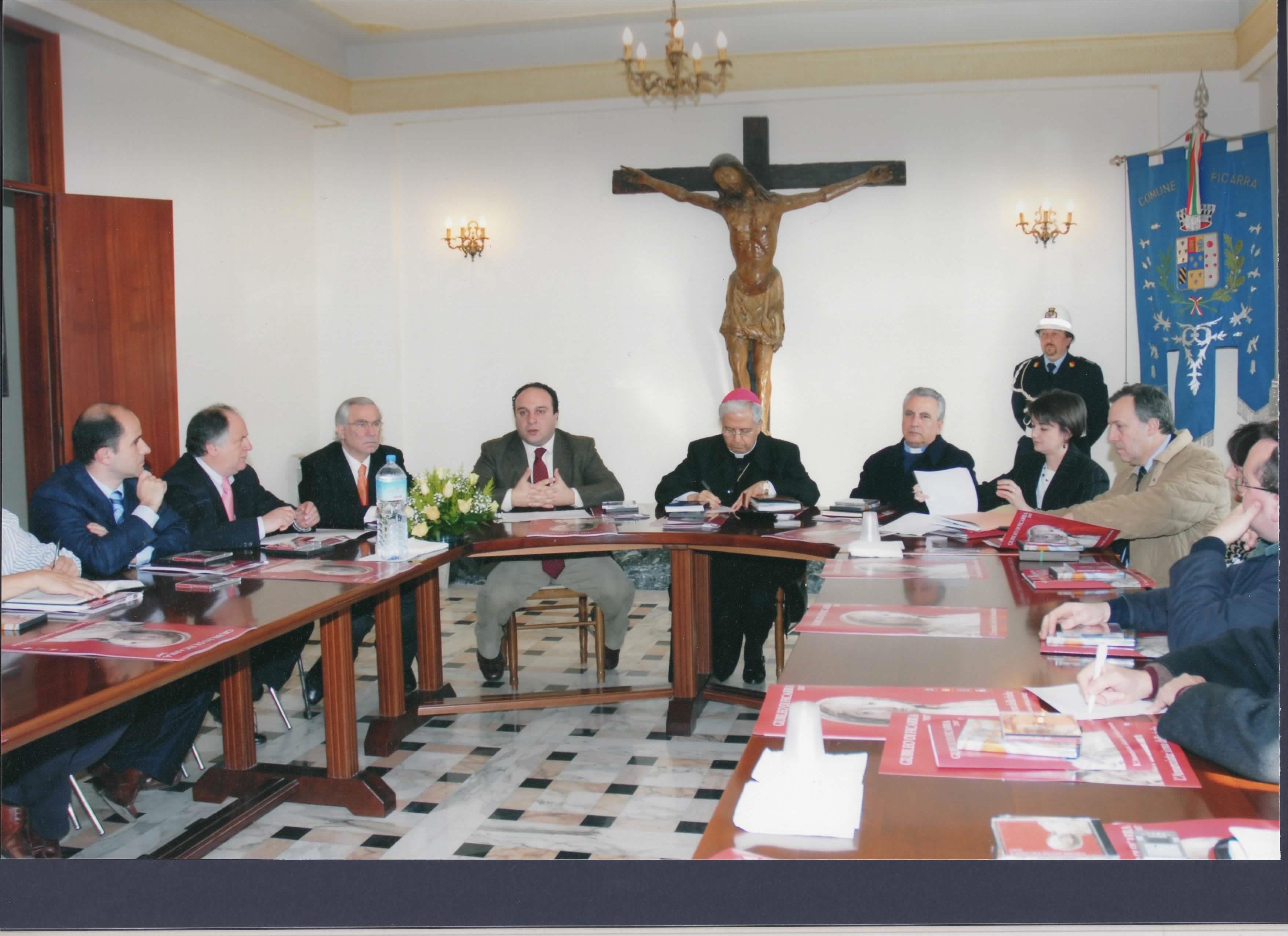 2007-Conferenza-Stampa-Giubileo-di-Ficarra 1