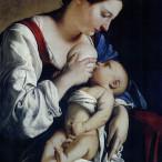 Orazio Gentileschi - Madonna con bambino