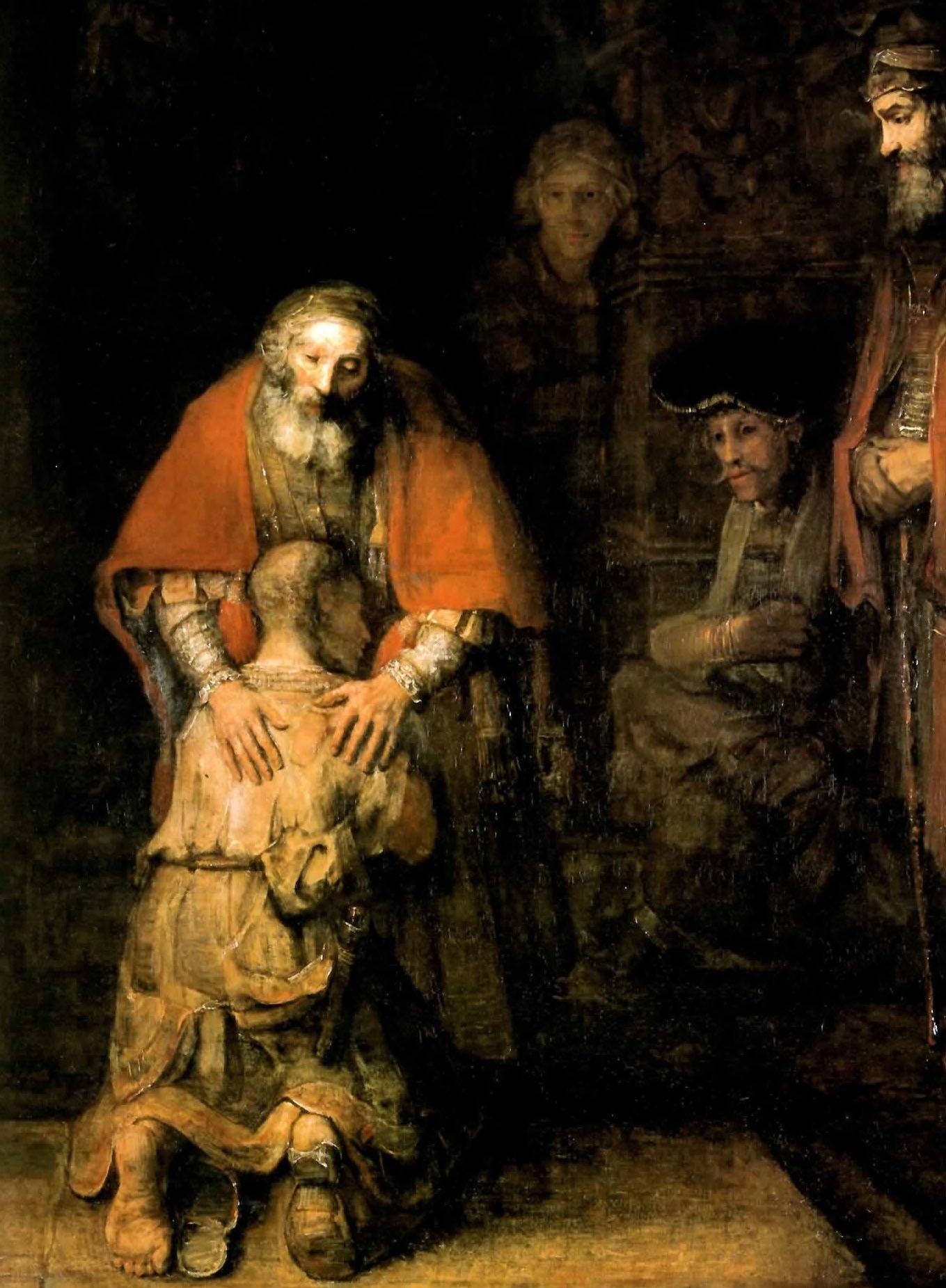 Rembrandt - Il figlio prodigo
