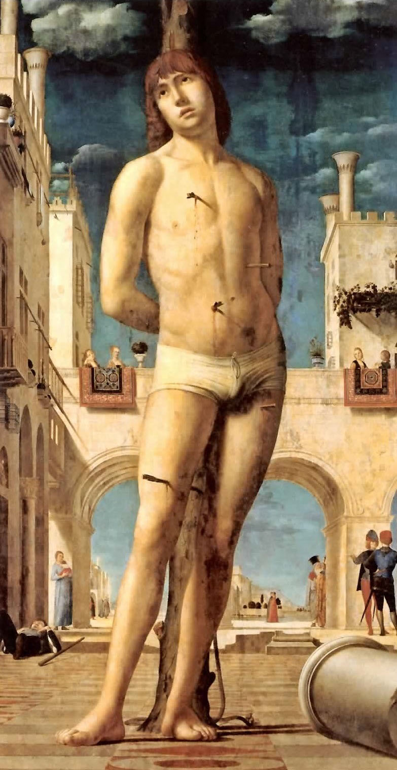 Antonello da Messina - San Sebastiano