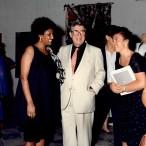 Salvatore Fiume con la moglie e una visitatrice