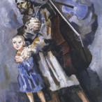 Trento Longaretti - Mendicante cieco e violame