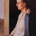 Virgilio Guidi - Ritratto di Laura