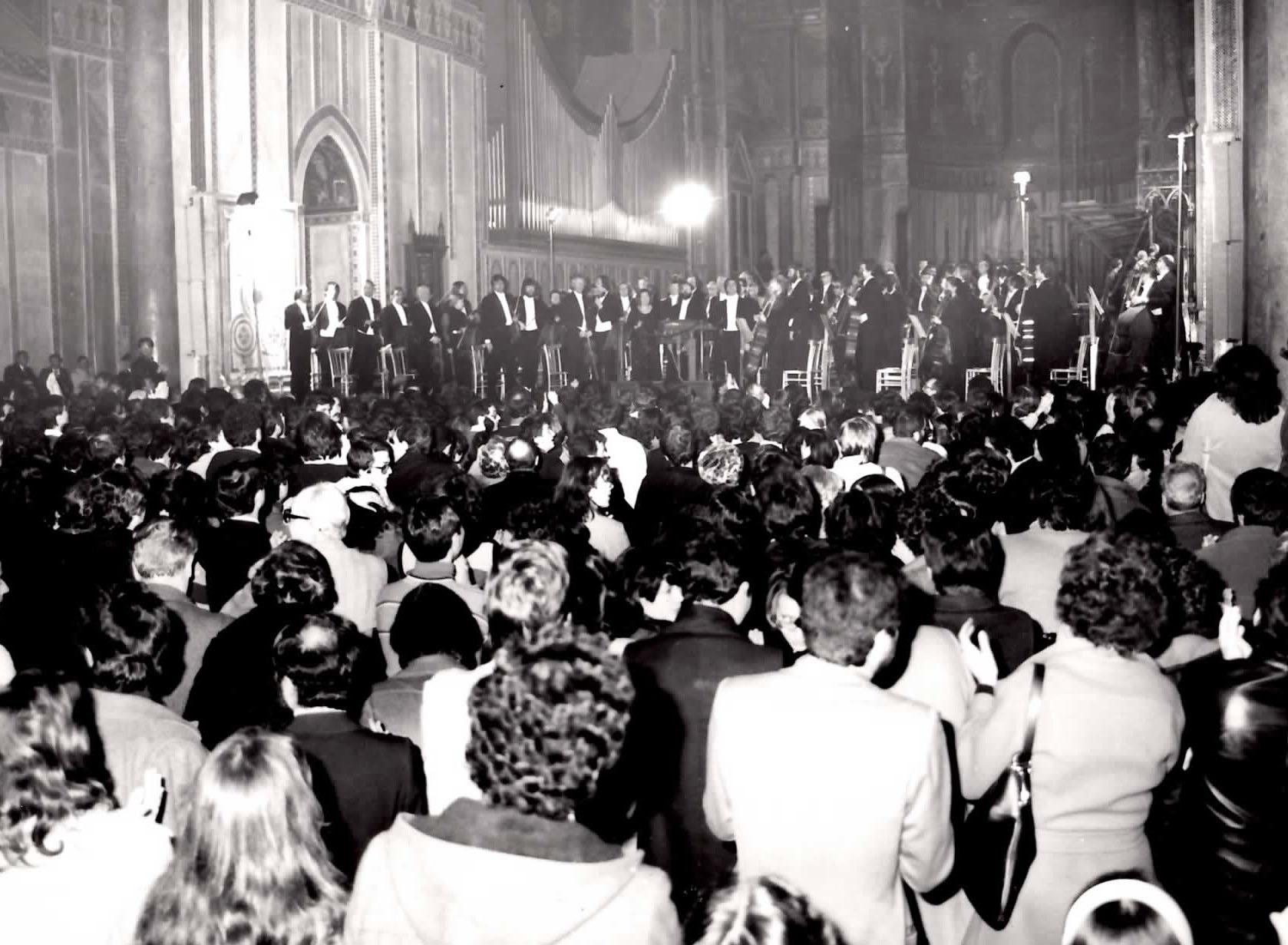 Concerto di Riccardo Muti a Monreale in occasione della Rassegna