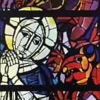 Domenico Cantatore - Particolare della Vetrata di San Domenico di Siena
