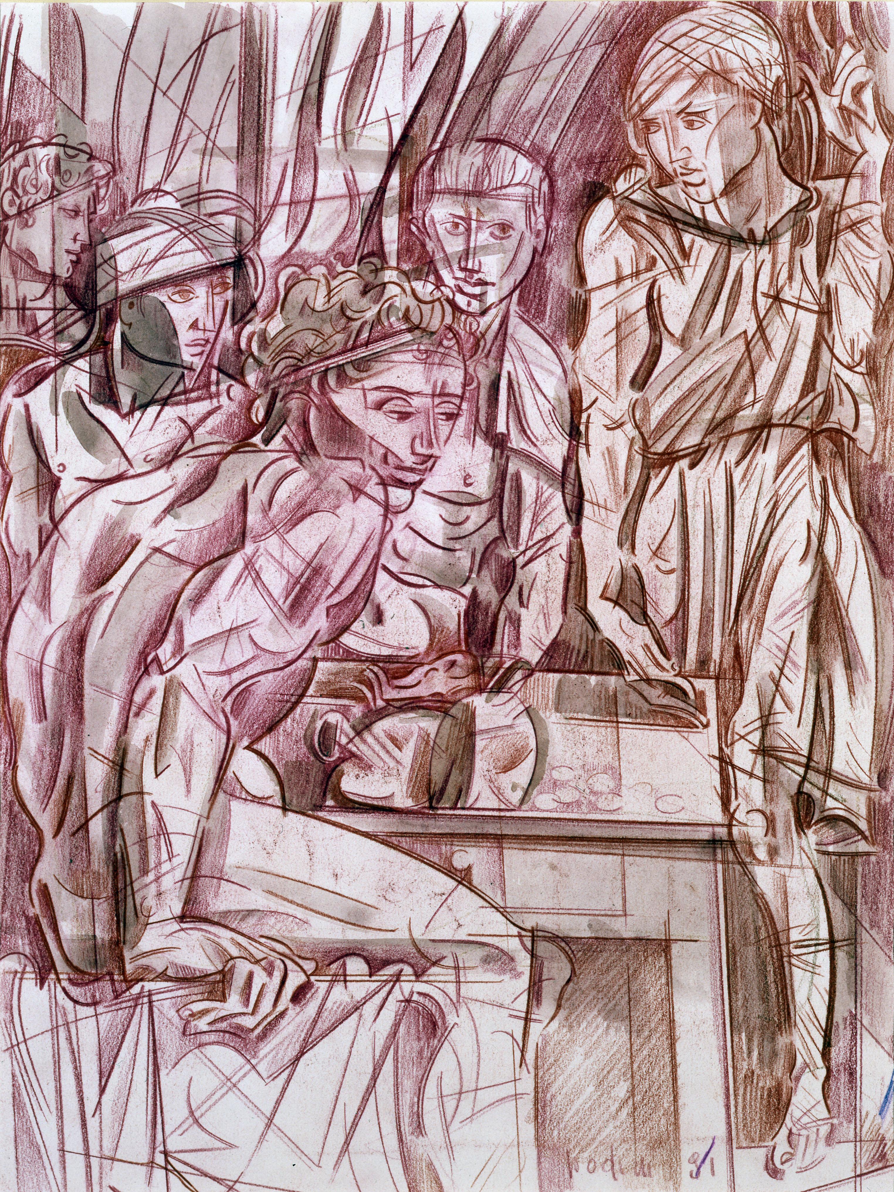 Floriano Bodini - Vocazione di San Matteo