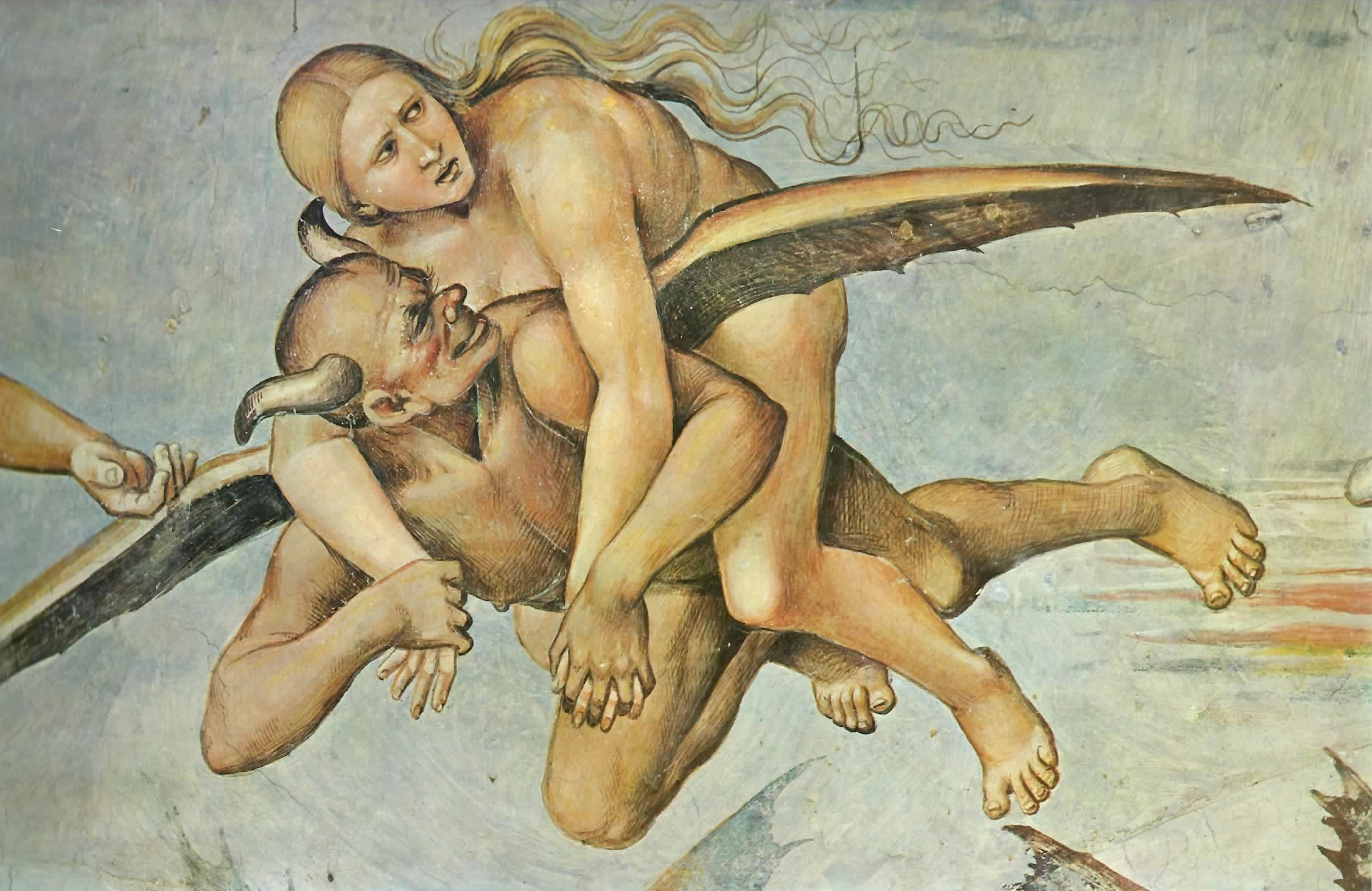 Luca Signorelli - I dannati, part.