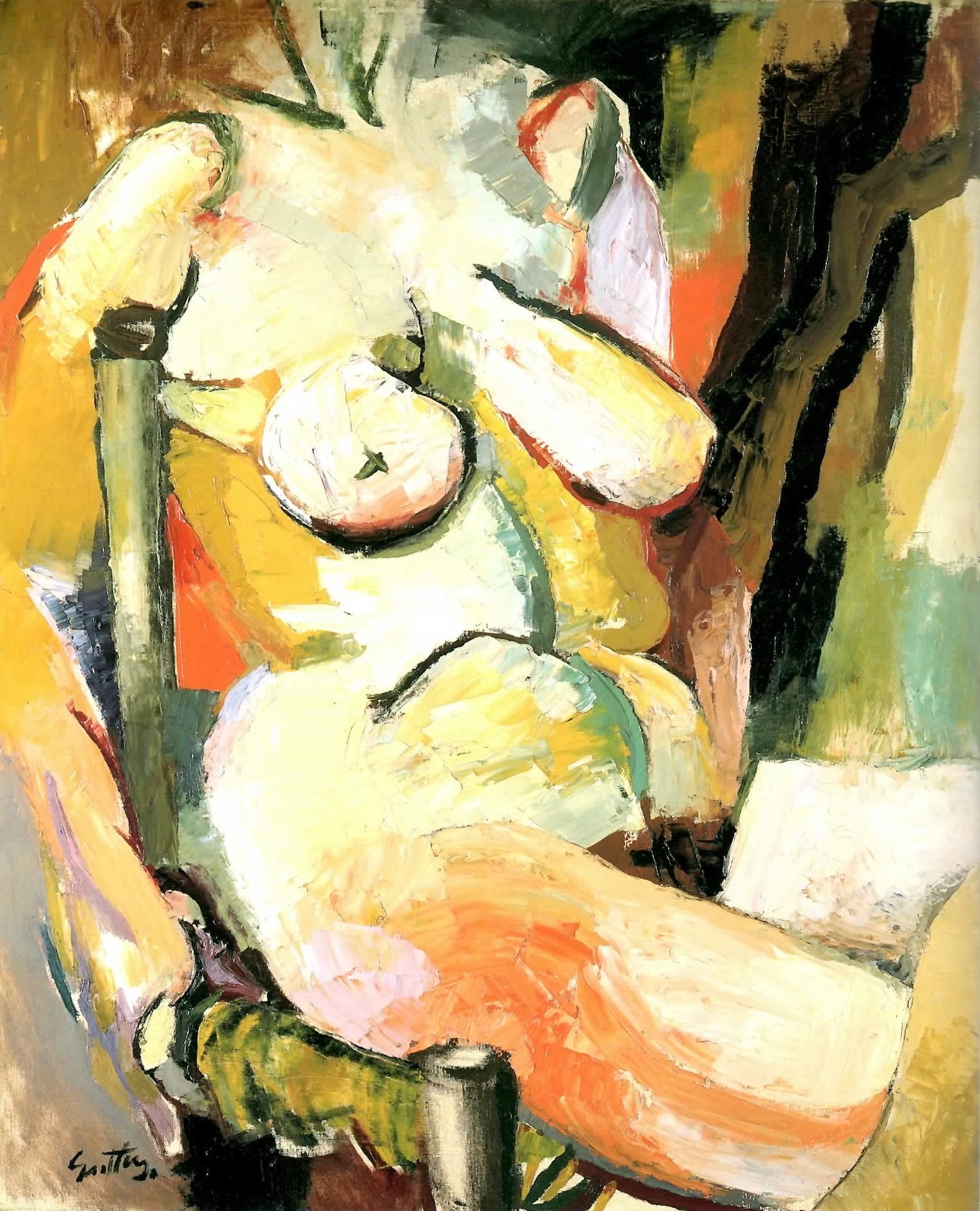 Renato Guttuso - Nudo