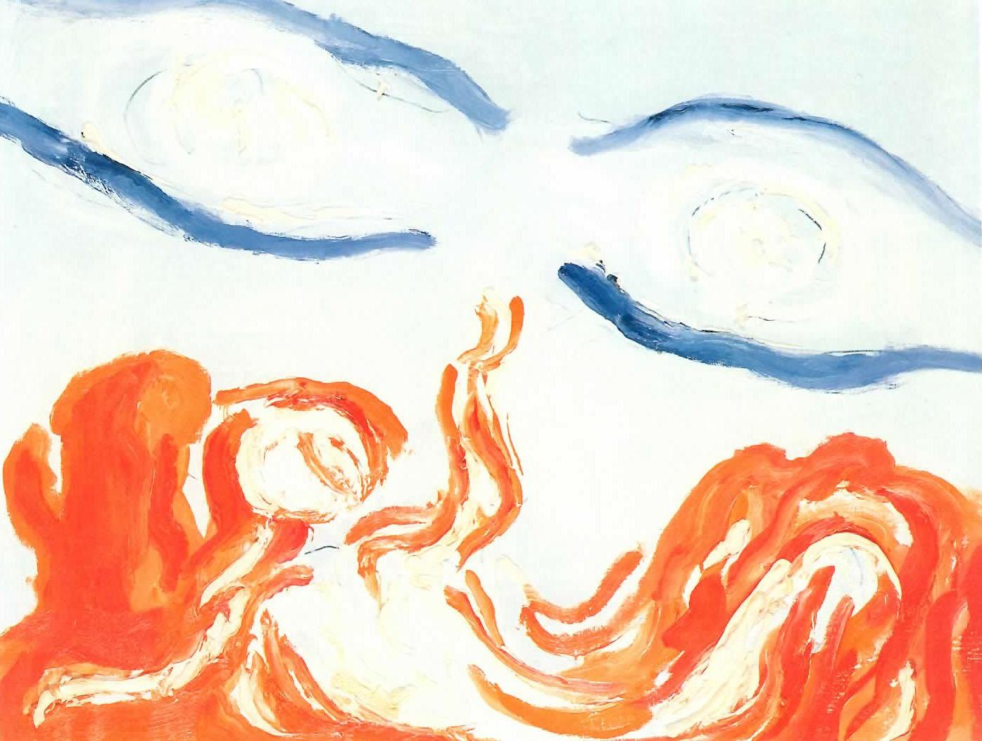 Virgilio Guidi - Uomo e cielo