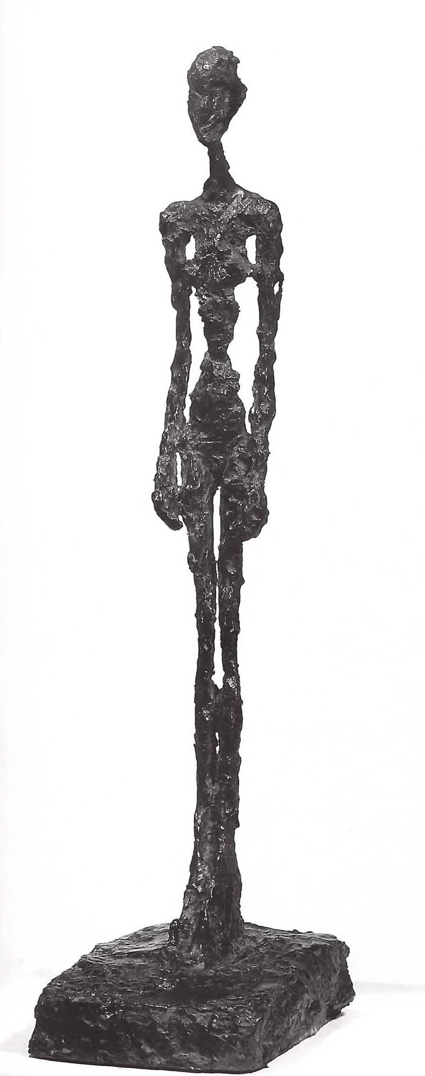 A. Giacometti - Donna nuda in piedi