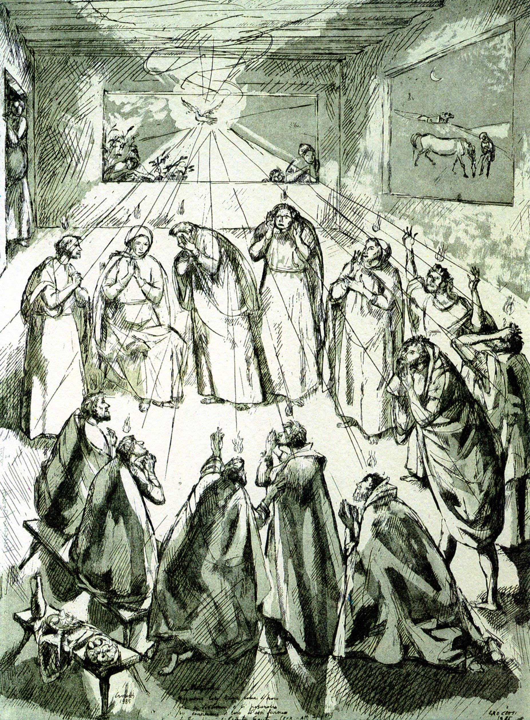 Venanzo Crocetti - La Pentecoste