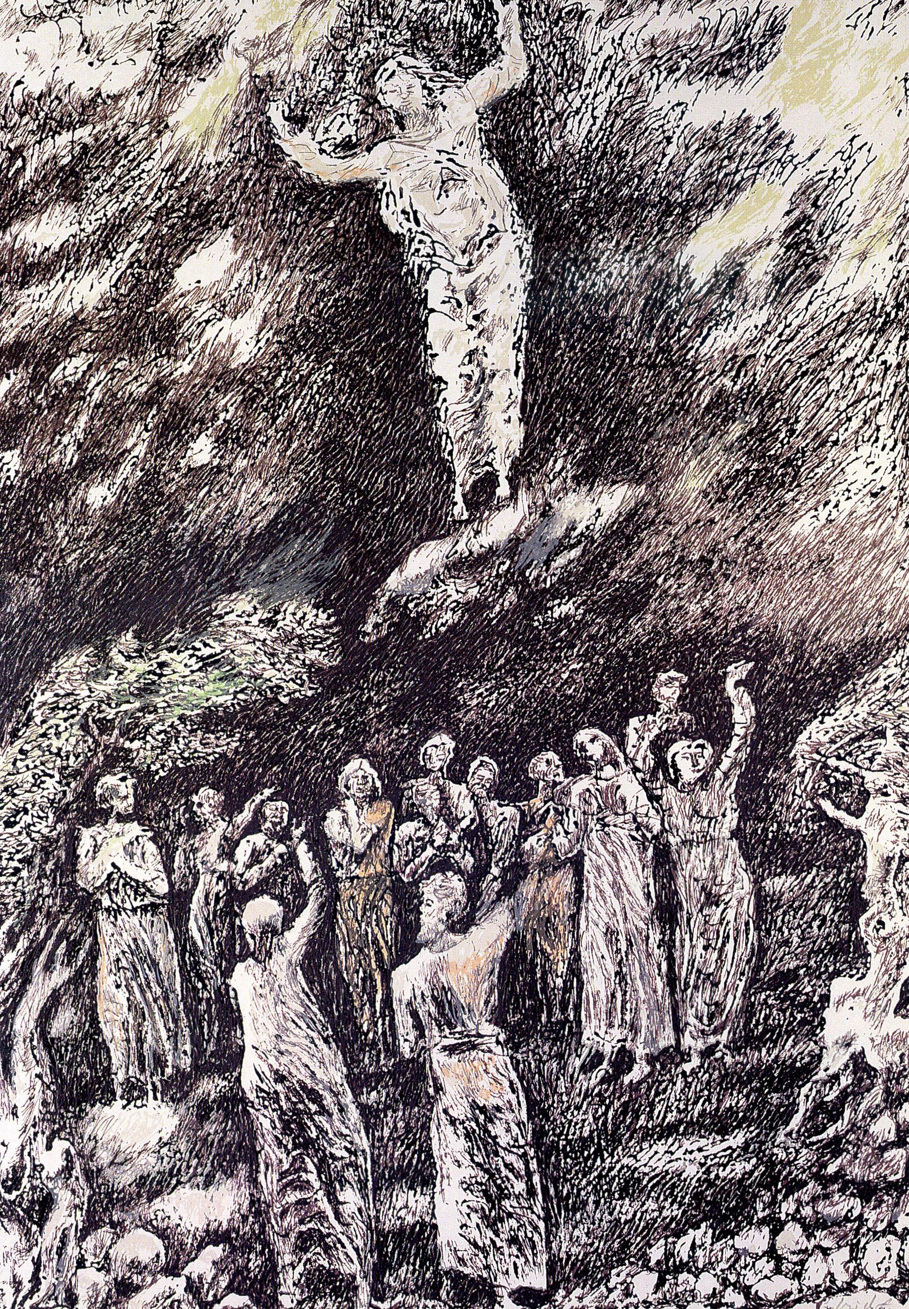 Pericle Fazzini - Ascensione al cielo