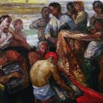 Mario Colonna - Tirando le retisulla banchina