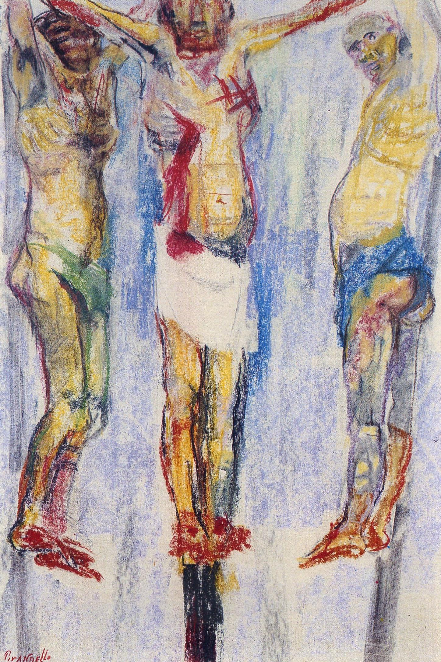 Fausto Pirandello - Crocifissione I