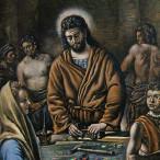 Giorgio De Chirico - Cristo Divino Lavoratore