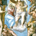 Michelangelo - Giudizio Universale, part.