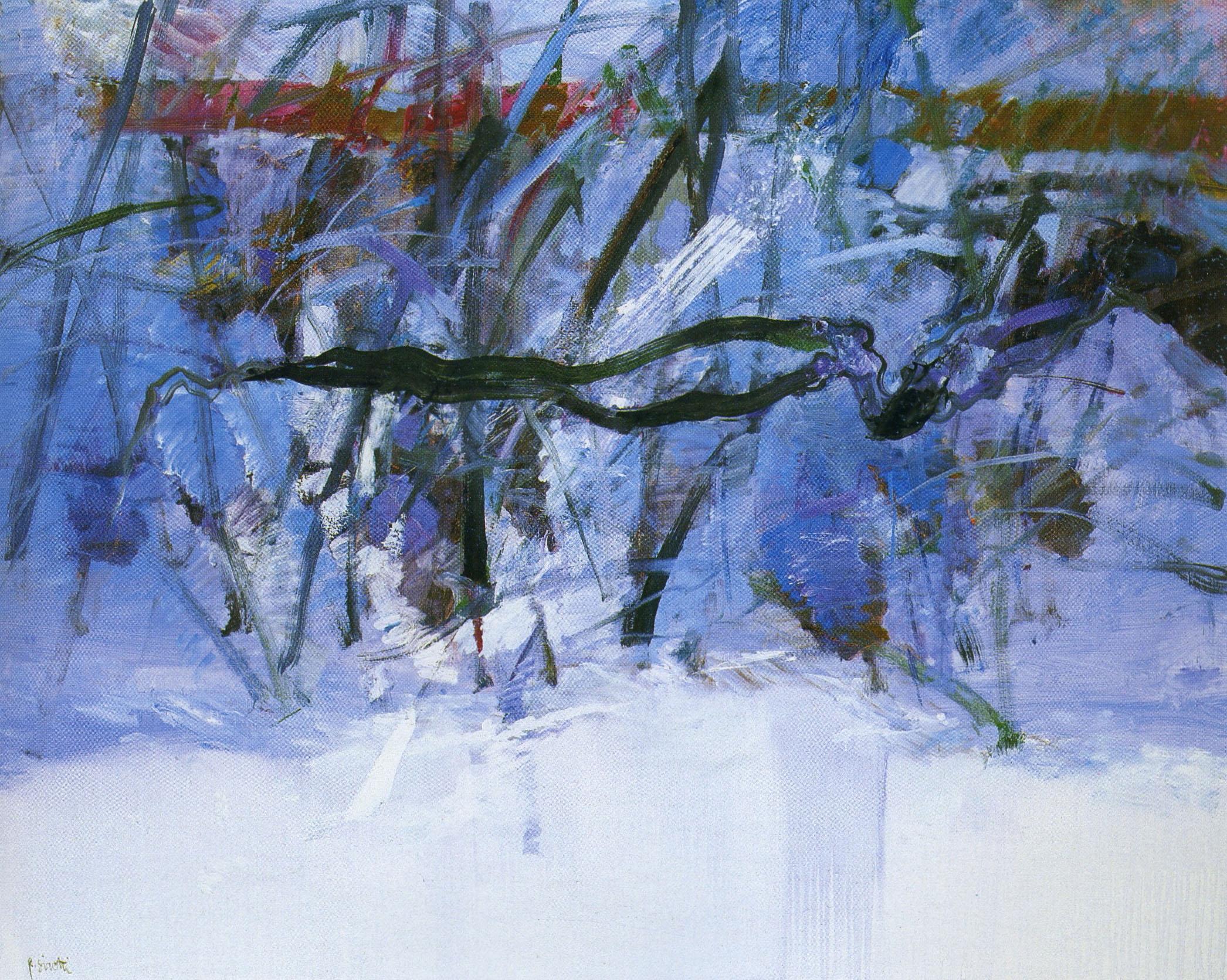 Raimondo Sirotti - Inverno nelle cinque terre