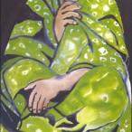 Luigi Coppa - Donna in verde