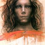 Pietro Annigoni - Studio per la castità